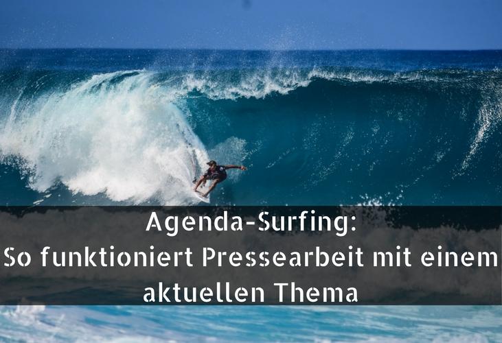 Pressearbeit, agenda-surfing, pr