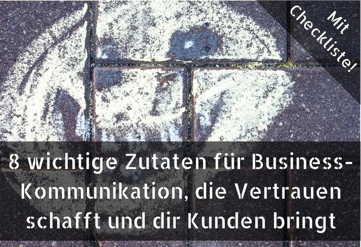 Sichtbarkeit, Bekanntheit, Vertrauen, Kunden gewinnen, Kommunikation
